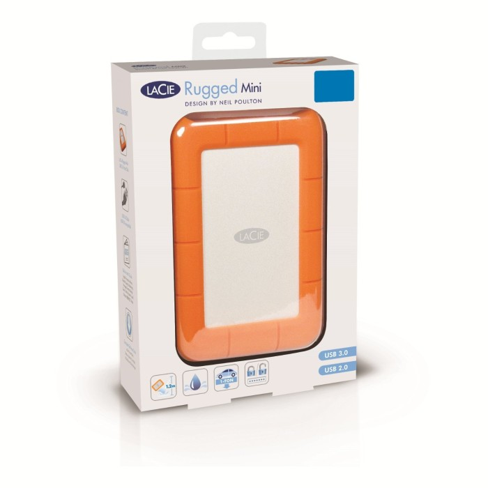 The LaCie Rugged Mini