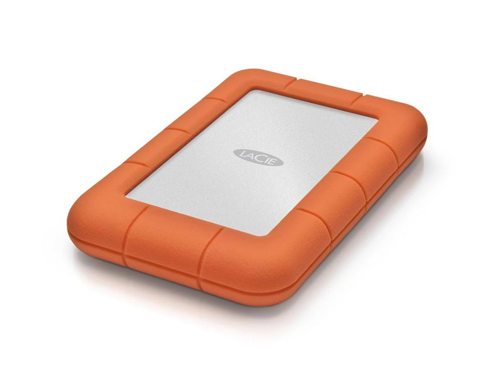 LaCie Rugged Mini portable drive