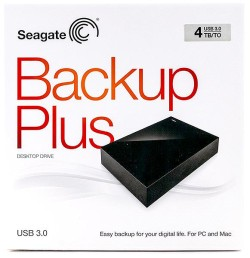 Seagate Backup Plus Mac and Windows compatible in box