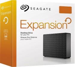 Seagate Expansion desktop drive box