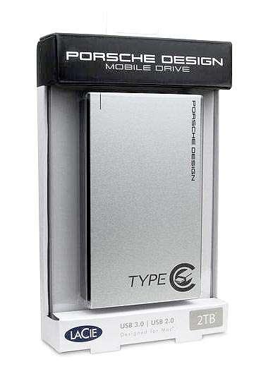 Lacie Porsche Design p'9223 Mobile Drive in box