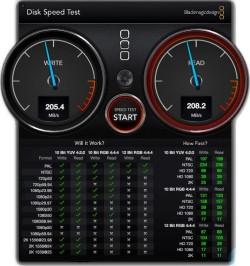 WD My Passport Pro Speed test RAID 0