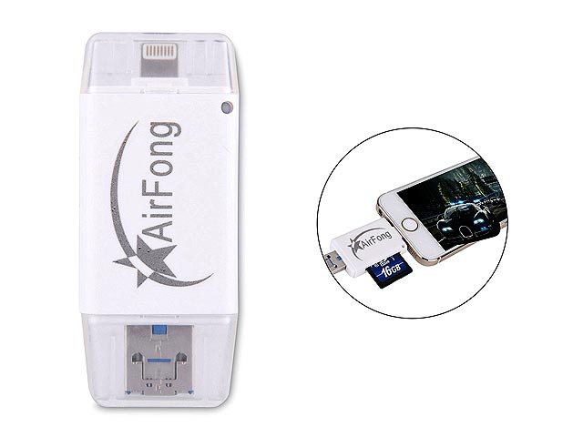 Airfong 3-in-1 flash drive