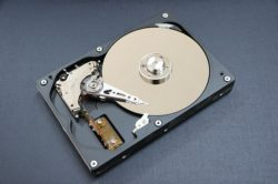 Computer storage types: hard disk drive