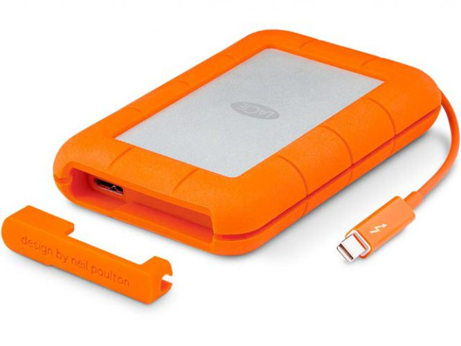 lacie rugged portable thunderbolt ssd drive