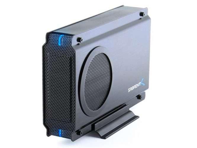 Sabrent USB 2.0/ESATA external disk drive enclosure