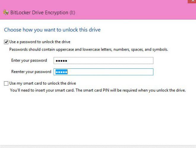 Using BitLocker On Windows