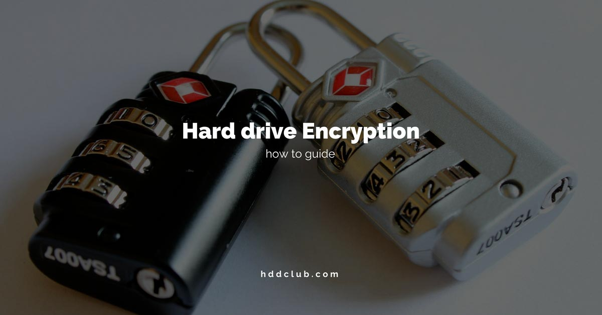 encrypt external hard drive