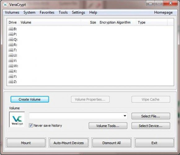 To encrypt your external drive using VeraCrypt