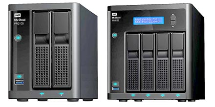 My Cloud Expert Series  EX2100 & EX4100
