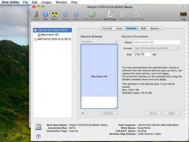 Partition a Mac External Hard Drive