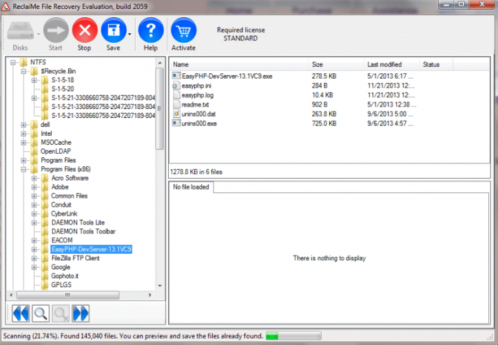 ReclaiMe Data Recovery Software