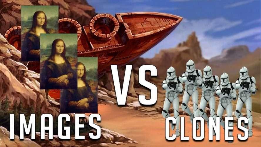 disk image vs clone