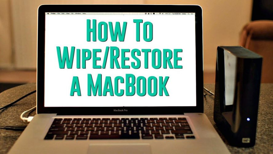 wipe a drive on mac
