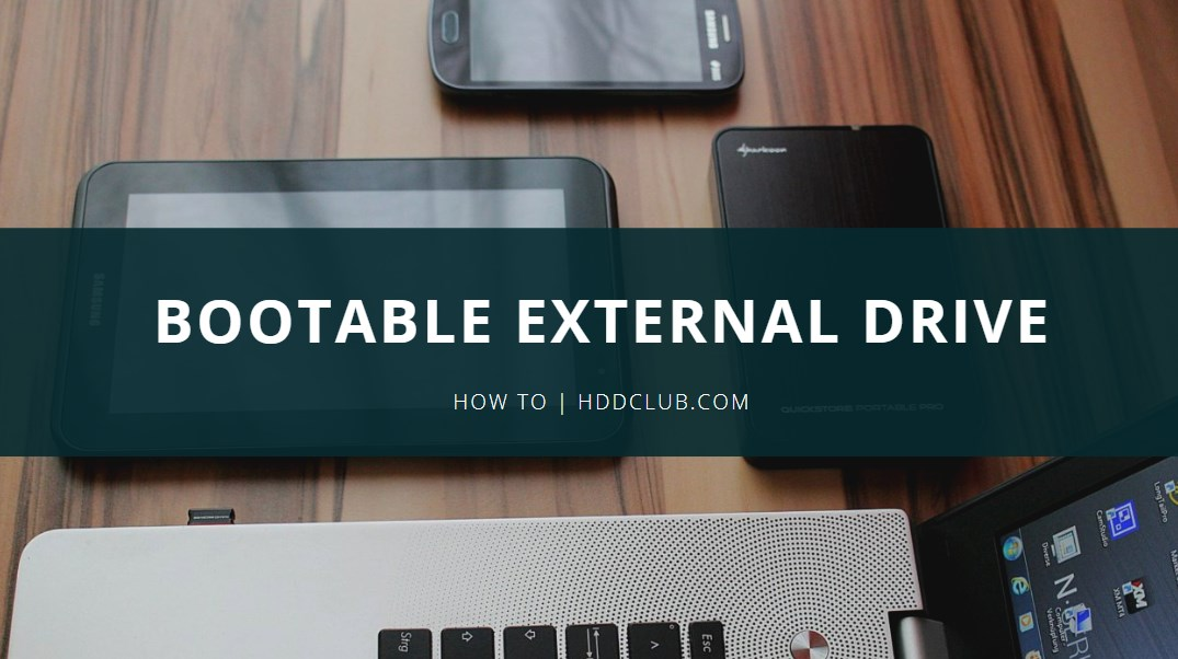 How to Make Your External Hard Drive Bootable